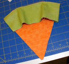Quilted Fabric Carrots I have been totally wanting to make some more Eastery decor items. Since quilting is my main love I decided to quil...
