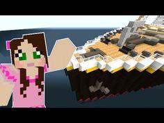 Minecraft: TITANIC MOVIE - THE SHIP IS SINKING!! - Custom Roleplay [4] - YouTube