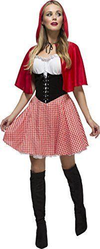 Damen Rotkäppchen Kostüm ca 31€ | Kostüm-Idee zu Karneval, Halloween & Fasching