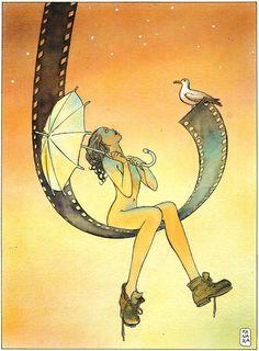 Inspirations: Milo Manara, comics artist