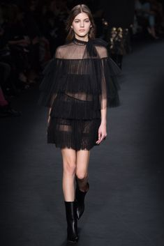 Valentino - black and sheer