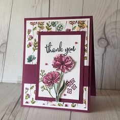 Floral Prints from the Share What You Love Specialty Designer Series Papers from Stampin' Up!