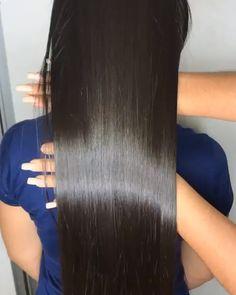 Black Hair Video, Long Hair Video, Long Silky Hair, Long Dark Hair, Beautiful Long Hair, Gorgeous Hair, Long Indian Hair, Silver Blonde Hair, Mode Blog