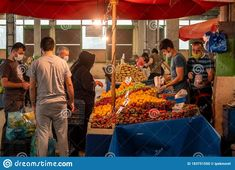 People With Medical Masks Shopping At Covered Grocery Bazaar During Corona Days Editorial Image - Image of health, contagion: 183751550 Mask Shop, Editorial, Masks, Medical, Health, Cover, People, Image, Shopping