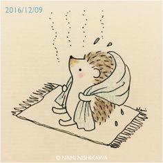 1056 お風呂上がりほかほか I just got out of the bath.