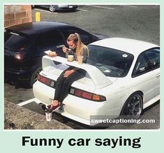 Car Quotes and images with funny car quotes for car lovers. That will make you inspirational, for your new car with famous and short car quotes. Funny Car Quotes, Funny Pins, Funny Jokes, Hilarious, Fun Funny, Stupid Memes, Stupid Funny, Russian Humor, Funny Test