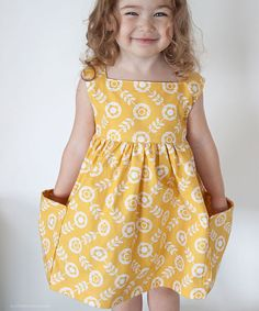 Sally Dress retro modern sewing pattern by luvinthemommyhood (Very shannon)   The best sewing patterns for women, girls, toys and more. Go To Patterns & Co.