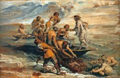 Miraculous Fishing - Peter Paul Rubens