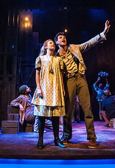 Wendy and Peter in Peter and the Starcatcher