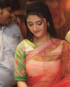 South Indian Actress Hot, Indian Film Actress, Beautiful Indian Actress, Indian Actresses, Kids Lehenga, Saree Blouse Patterns, Baby Girl Photos, Beauty Full Girl, Saree Dress