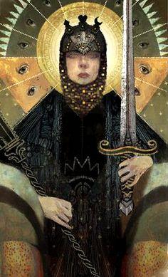(Cassandra tarot card - Dragon Age: Inquisition)