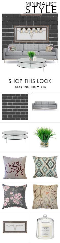 """Minimalist style."" by maddy0428 on Polyvore featuring interior, interiors, interior design, home, home decor, interior decorating, Debbie McKeegan, Joybird, SCP and Daytrip"