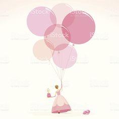 Pink princess happy birthday invitation girl cake illustration vector royalty-free stock vector art Cake Illustration, Pink Princess, Birthday Invitations, Vector Art, Royalty, Happy Birthday, Free, Happy Girls, Happy Brithday
