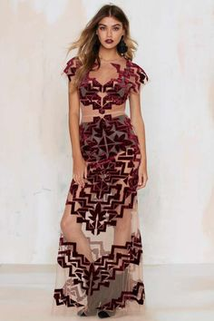 For Love & Lemons Vienna Maxi Dress - Dresses
