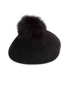 481bb0d8c9d11 Lola Hats - Pom Gum Drop Velour   Fur Hat