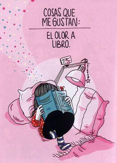 Cosas que me gustan: el olor a libro