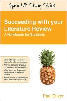 Covers all aspects of doing a literature review: searching, analysing and criticising the literature, structuring and writing your review and relating the review to the rest of the dissertation.