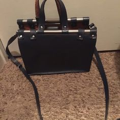 Zara Doctor bag Real leather Zara Bags Crossbody Bags