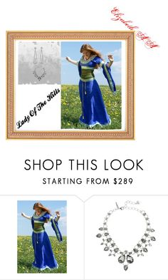 """""""Lady Of The Hills"""" by elirana-chase on Polyvore featuring Oscar de la Renta"""