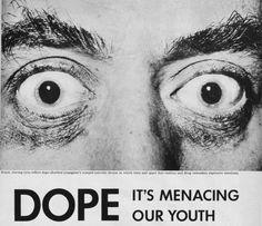 Mid 20th century anti-drug propaganda