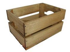 """Caja de madera de pino """"Mini"""""""