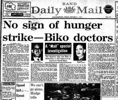 Newspaper article circa 1977