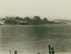 Dawes Point in Sydney in 1883. •State Records of NSW•
