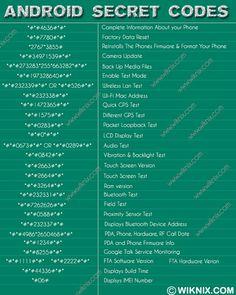 Android Secret Codes - Imgur