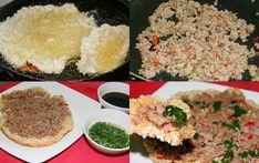 Cách làm cơm cháy thịt bằm mỡ hành Vietnamese Cuisine, Vietnamese Recipes, A Food, Food And Drink, Grains, Rice, Cooking, Noodles, Kitchen