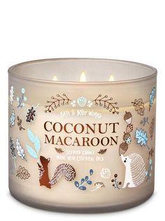 Bath & Body Works Coconut Macaroon Candle - Fresh Scented Candles - Ideas of Fresh Scented Candles