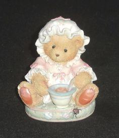 Cherished Teddies Little Miss Muffet Enesco Figurine #624799 NEW IN BOX