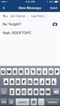 Yahoo! Mail (iPhone): Compose, Gen 2 (2013)