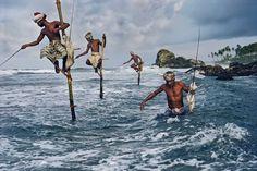 Процесс рыбной ловли на Филиппинских островах
