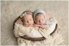 Twin Girl Baby Photo ideas and props , newborn photographer in Orange County Newborn Twin Photos, Newborn Twins, Newborn Pictures, Newborn Photography Studio, Newborn Photographer, Baby Family Pictures, Twin Girls, Orange County, Babys