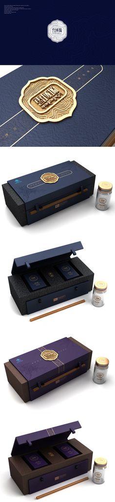 雪域塬保健品包装设计@此间1987采集到包装设计(41图)_花瓣平面设计