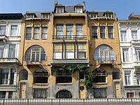 Art nouveau, pav Antwerpen_Mercatorstraat