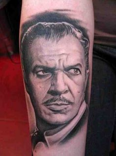 Vincent Price by Bob Tyrrell