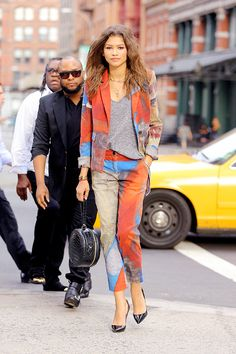 Zendaya out in NYC 08/06/15