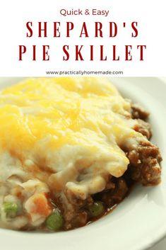 Shepards pie made wi