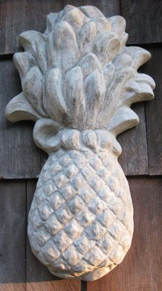 pineapple I have these on my privacy fence in the backyard   Love them