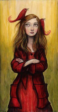 Kelly Vivanco, a brilliant artist. Art And Illustration, Art Amour, Art Fantaisiste, Inspiration Art, Whimsical Art, Oeuvre D'art, Love Art, Painting & Drawing, Amazing Art