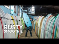 (4) Rusty Smoothie Surfboard Review - YouTube