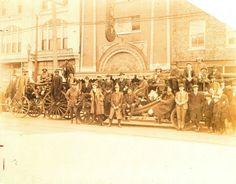 Fayetteville, North Carolina, c. 1900's, downtown.