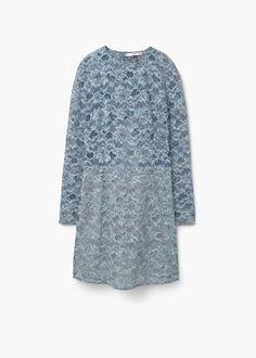 Lace dress -  Women   MANGO USA