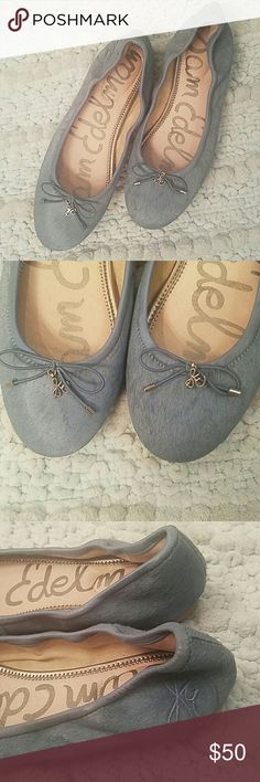 Sam Edelman Ballet Flats Light blue calf hair ballet flats Sam Edelman Shoes Flats & Loafers