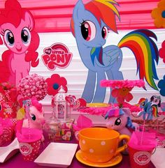 MY LITTLE PONY Party Prop Event Decoration by HelloSunStudio