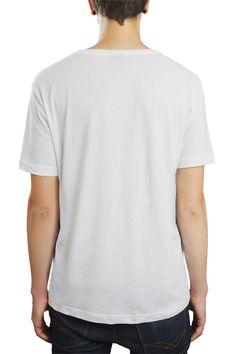 35307d06ac Camiseta Hunter Beijou Alguém Ou Só Gastou Dinheiro Branca
