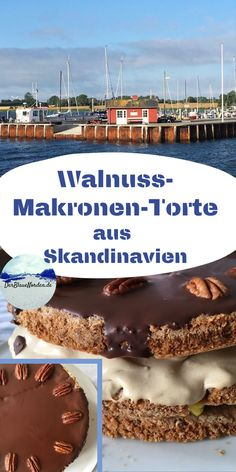 Dessert, Pies, Nordic Kitchen, Macaroons, Eat Lunch, Deserts, Postres, Desserts, Plated Desserts