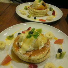2012*11*29 HOKUHOKUのパンケーキ♪