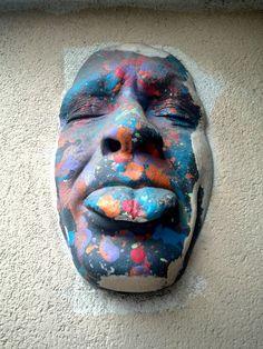 Gregos - street art - paris 11, rue du faubourg st antoine